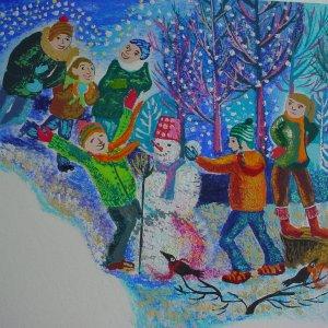 2006-oblacica-i-snijeg-tamara-vrbanovic-djecji-casopis-radost